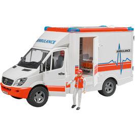 Bruder BRUDER 02536 Mercedes Benz Sprinter Ambulanz - Krankenwagen