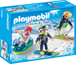 PLAYMOBIL 9286 - Freizeit-Wintersportler  Neu