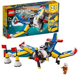 LEGO 31094 Creator Rennflugzeug, Hubschrauber oder Düsenjäger, 3-in-1