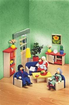 Selecta 4353 - Ronda Wohnzimmer Puppenhausmöbe