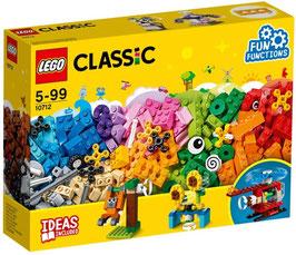 LEGO Classic 10712 - Bausteine-Set, Zahnräder, Bunte Steine