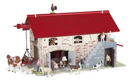 Papo 60101 - Großer Bauernhof, ohne Spielfiguren