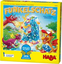 Haba 303402 - Funkelschatz Brettspiel, für Kinder ab 5 Jahren