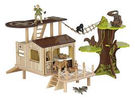 Papo 60300 - das Buschhaus, Spielfigur