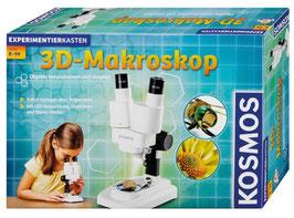 KOSMOS  636104 Experimentierkasten 3D-Makroskop