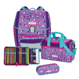 Scout Genius Set 4tlg. Candy Haearts 09500