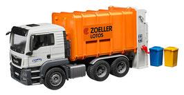 Bruder 3762 - MAN TGS Müll-LKW Hecklader