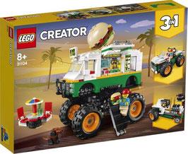 Lego® Creator 31104 Burger-Monster-Truck, ab 8 Jahre