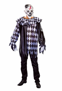 Grusel-Clown Oberteil  50/52