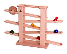 nic - Holzspielzeug 1501 - Multibahn + 6Teile
