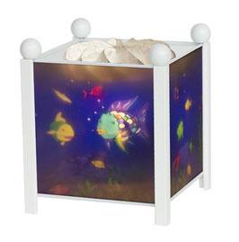 Trousselier Magische Laterne Regenbogenfisch , weiß