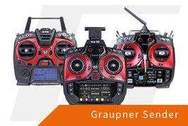 Graupner mz-10 HoTT Fernsteuerung (5-Kanal) weitere Sender auf Anfrage