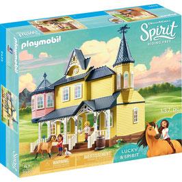 9475 Luckys glückliches Zuhause PLAYMOBIL Spirit Riding Free NEU
