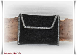 TAN - Lesegerät Tasche aus Filz / anthrazit - grau