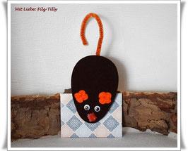 Maus aus Filz & Umschlag / Geldgeschenke / Maus 10