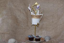 Etagere für Kaffee und Zucker, Artikel 3005
