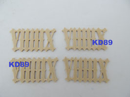 Chiffres romain de coucou en bois