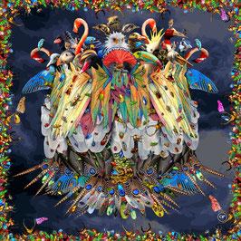 Seidentuch: Der Vogelkönig