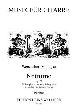 Matiegka, Wenzeslaus: Notturno op. 21