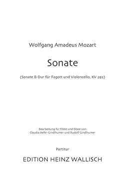 Mozart, Wolfgang A.: Sonate für Flöte und Oboe (KV 292)