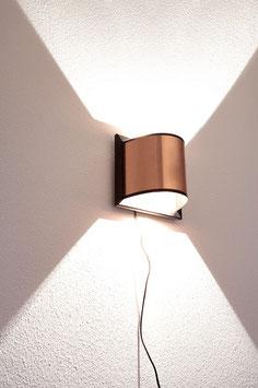 Eiche-Kupferlampe