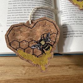 Lesezeichen Biene