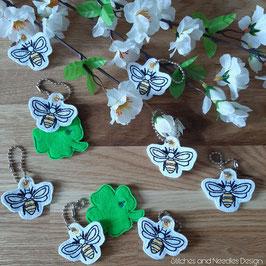 Schlüsselanhänger Bienchen