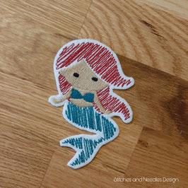 Meerjungfrau-Patch