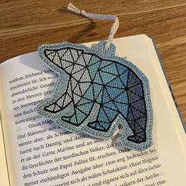 Lesezeichen Eisbär
