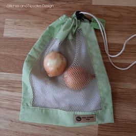 Obst-/ Gemüsenetz Hellgrün