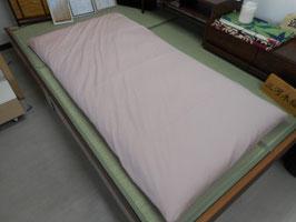 一級寝具技能士(愛知県知事賞受賞)の手作りの木綿敷き布団(無地3  ピンク)(納期 約1ヶ月程)