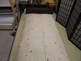 国家資格一級寝具技能士が作る敷布団 美布美 ベージュ