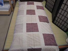 一級寝具技能士(愛知県知事賞受賞)の手作りの木綿敷き布団 K5386 ベージュ