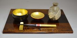 木製膳・天杯セット