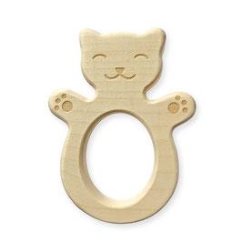 Wooden teether Cat