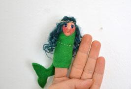 grüne Meerjungfrau