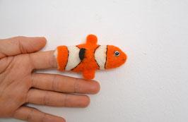 Fingerpuppe Clownfisch