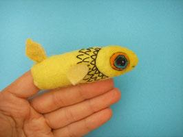 Fingerpuppe gelber Fisch