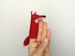Fingerpuppe roter Fuchs