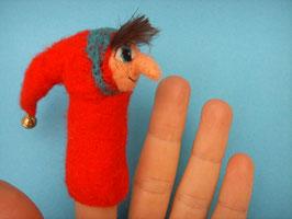 Fingerpuppe Kasper