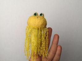 Fingerpuppe gelbe Qualle