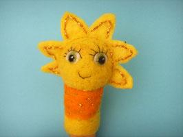 Fingerpuppe Sonne