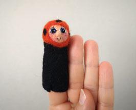 Fingerpuppe Marienkäferchen