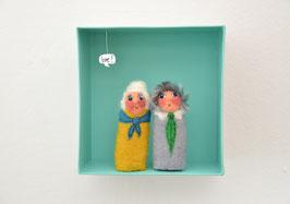 Fingerpuppen Oma und Opa in der Box *love!