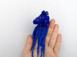 Fingerpuppe ultramarinblauer Oktopus