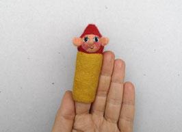 Fingerpuppe gelber Zwerg