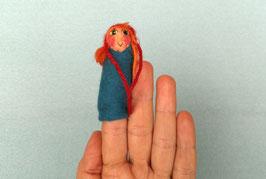 Fingerpuppe Rotkäppchen
