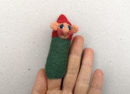 Fingerpuppe grüner Zwerg