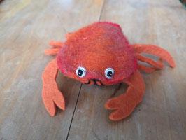 Fingerpuppe rote Krabbe