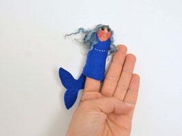Fingerpuppe Meerjungfrau